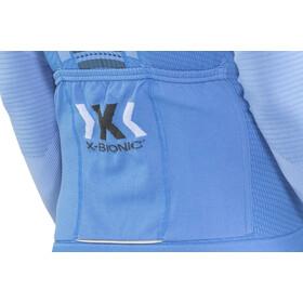 X-Bionic Race Evo Fahrrad LS Trikot Herren marina blue/anthracite